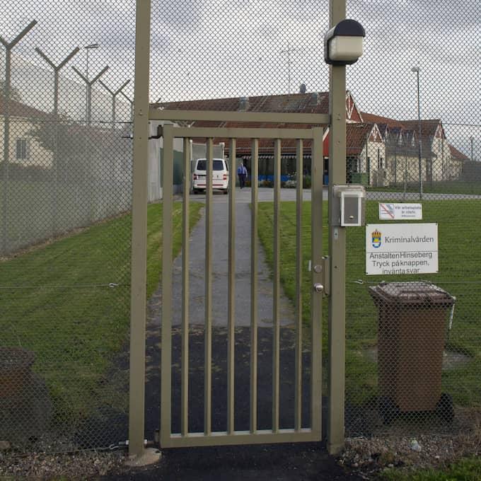Styckmördaren Jonna Henningsson, 27, väntade besök i Hinsebergsfängelset – men det stoppades. Foto: Roger Vikström