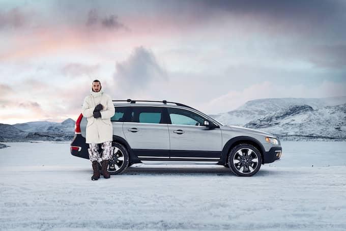 ur den uppmärksammade reklamfilmen Zlatan gjorde med Volvo, den första av flera. Foto: / VOLVO