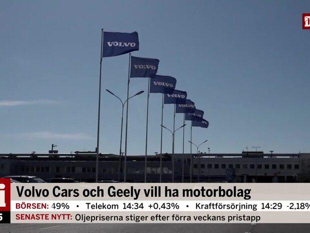 Volvo Cars och Geely vill ha motorbolag