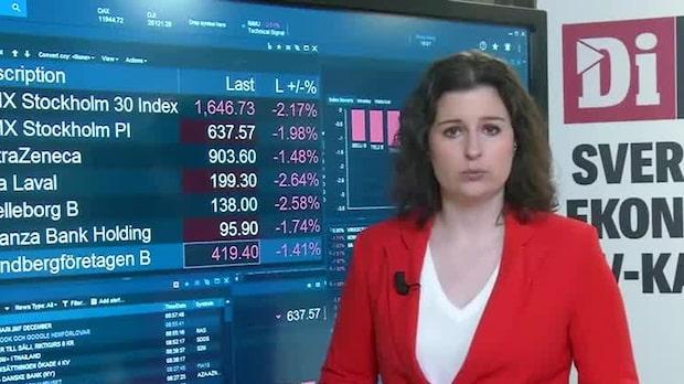 Börsöppningen: Breda nedgångar i OMXS30