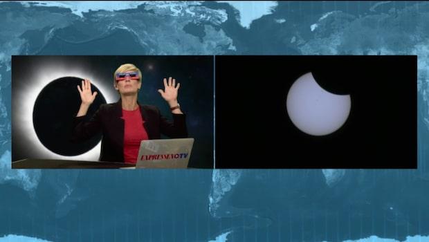 Hur kan man på bästa sätt observera en solförmörkelse?