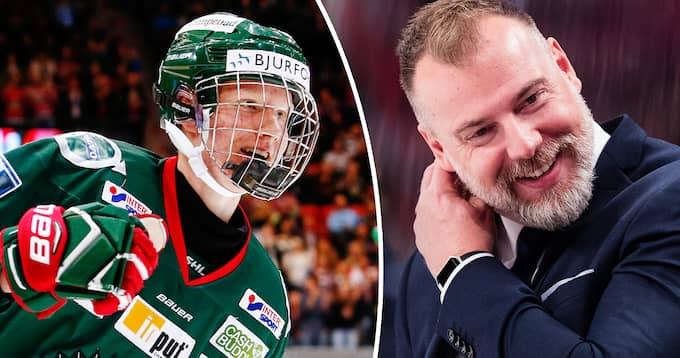 Rasmus Dahlin är uttagen i Rikard Grönborgs trupp till Karjala Tournament. Foto: Bildbyrån