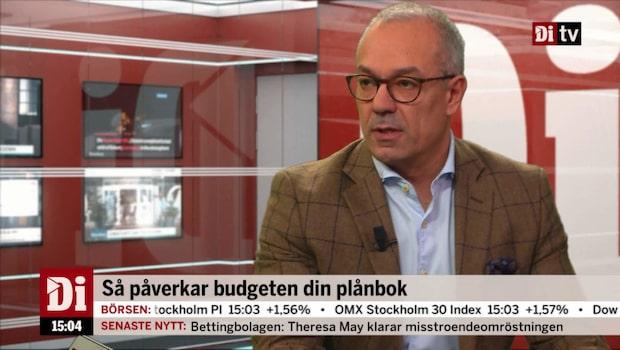 """Privatekonomen om M+KD-budgeten: """"Har levt i de bästa av två världar"""""""