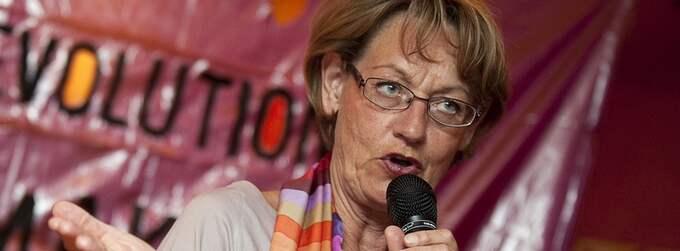 Gudrun Schyman lämnar sitt uppdrag som talesperson för FI. Foto: Maja Suslin / Scanpix