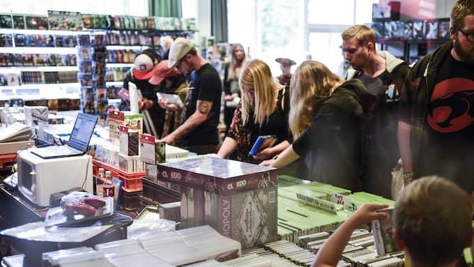 Utställare från världens alla hörn samlas i Helsingborg. Foto: JENS CHRISTIAN / EXPRESSEN/KVÄLLSPOSTEN