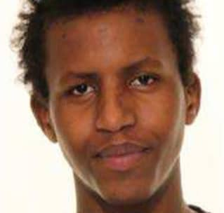 Abdiwale Abdulle, 19. Foto: POLISEN