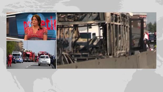Jennifer Wegerup om attentatet mot italienska skolbussen
