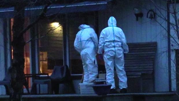 Polisens misstänker: Dödade sambon i sin pappas stuga
