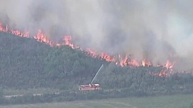 Australien går genom eld och vatten