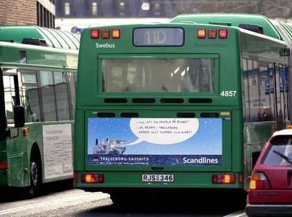 LÄTTA ATT RÅNA. Busschaufförer har en utsatt position och är ett enkelt byte för rånare. Problemen kan lösas om man får bort hanteringen av kontanter på bussarna. Foto: Lasse Svensson