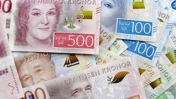 Eftersom spelaren hade lämnat in sin rad med en dubbel insats dubblades även vinsten, till två miljoner kronor. Foto: HENRIK ISAKSSON / IBL