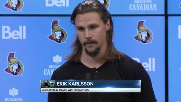 """Erik Karlssons första ord: """"Jag är väldigt ledsen"""""""