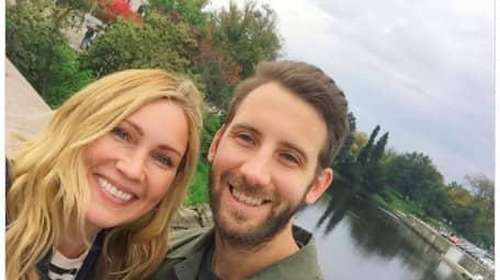 Jessica Almenäs och pojkvännen Patrik Fahlgren är släkt. Foto: instagram/jessicaalmenas