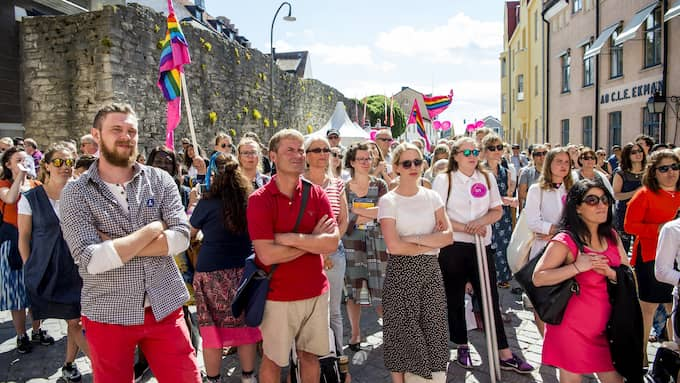 Politikerveckan på Gotland lockar mängder av toppolitker och personer som kan ha en ökad hotbild mot sig. Foto: CHRISTIAN ÖRNBERG