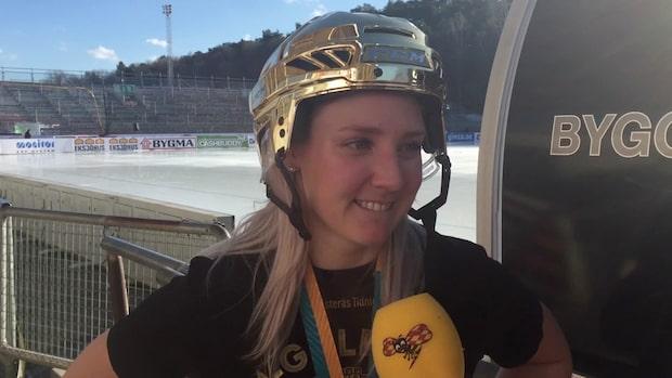 """Sara Carlström: """"Det är fantastiskt"""""""