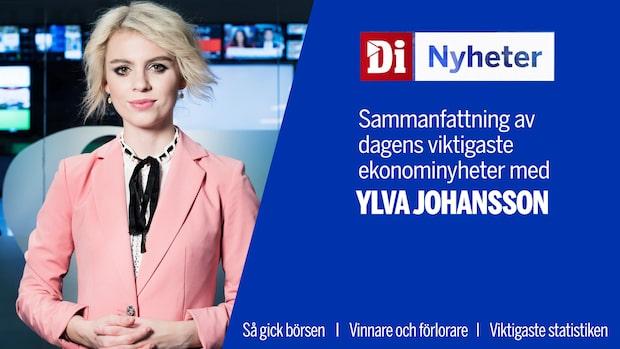 Di Nyheter: Stockholmsbörsen handlas ner – i linje med de europeiska börserna