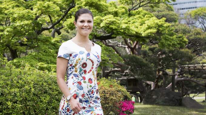 Kronprinsessan Victoria besöker just nu Japan. Foto: Sven Lindwall