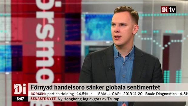 """Wendel om börsläget: """"Man ska lyssna till vad kineserna säger"""""""