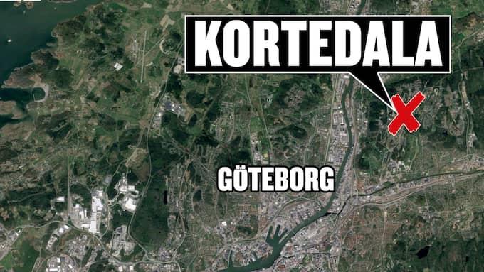 Polis hittade en blödande man i en lägenhet i Kortedala i Göteborg. Foto: Google
