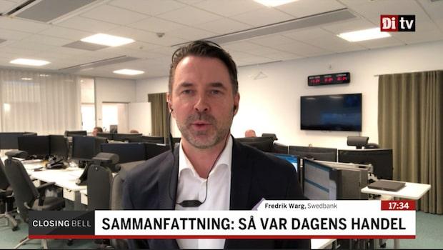 """Fredrik Warg: """"Den avslutade ju väldigt starkt"""""""