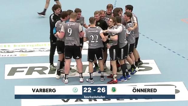 Highlights: Önnered besegrade Varberg