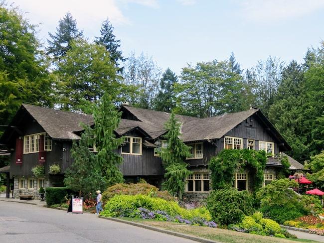 Du kanske känner igen huset här i Stanley Park? I alla fall om du är Twilight-fan.