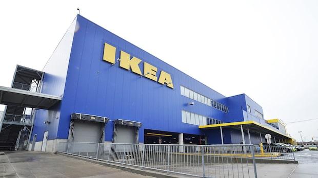 Storbråk på Ikea –rån urartade