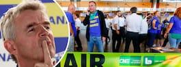 Ryanair hotas av fler pilotstrejker