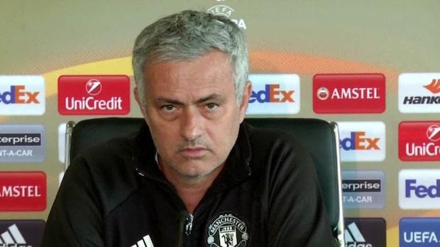 "Mourinho om Ajax: ""De borde åka hem"""
