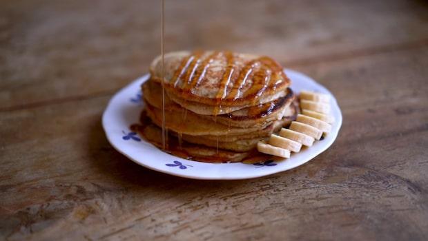 Recept: Bananpannkaka