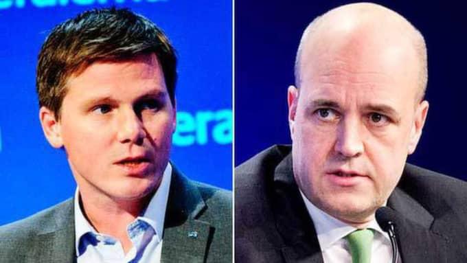 """""""Risken är att du hamnar i en situation där du splittrar barnfamiljer"""", säger integrationsminister Erik Ullenhag (FP) om en utökning av försörjningskravet, som Reinfeldts Moderaterna vill ha."""