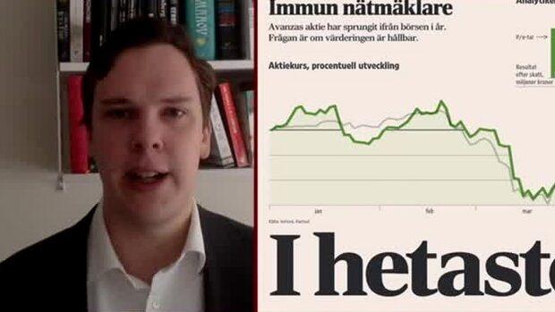 "Di:s analytiker: ""Avanza har haft goda tider nu"""