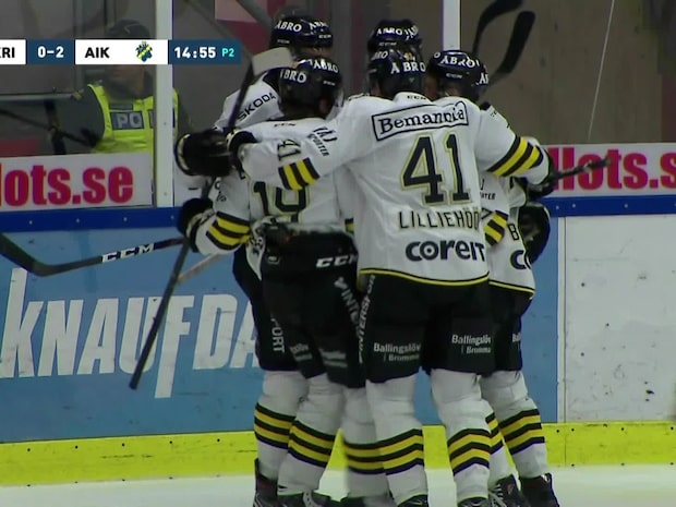 Highlights: AIK vann bottenmötet – debutant spikade igen
