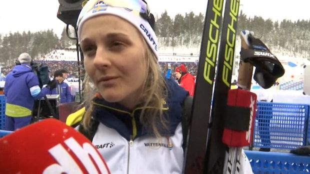"""Stina Nilsson: """"Kändes bättre idag"""""""