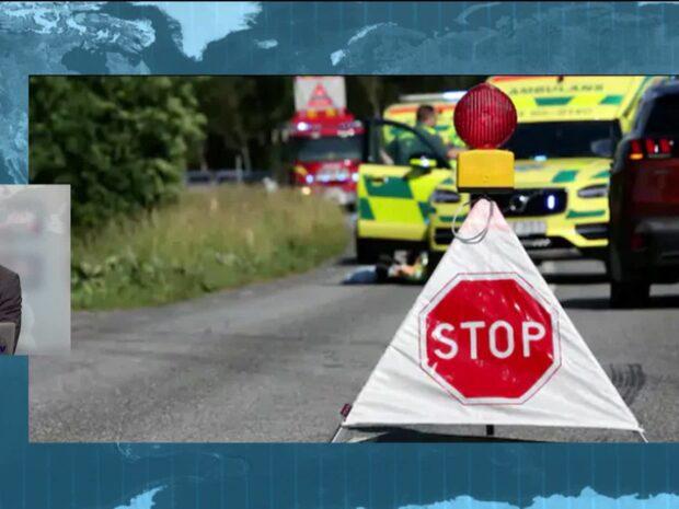 En man har omkommit i en mc-olycka