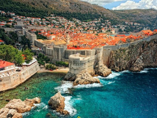 Dubrovnik i Kroatien är som en sagostad vid havet.