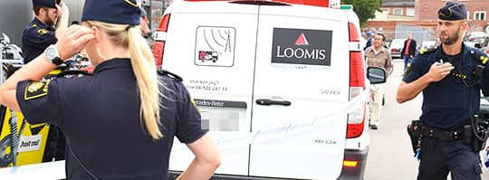 Loomis fortsatter med vardetransport