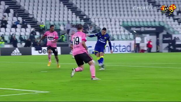 Andera Favilli sköt in Veronas ledningsmål