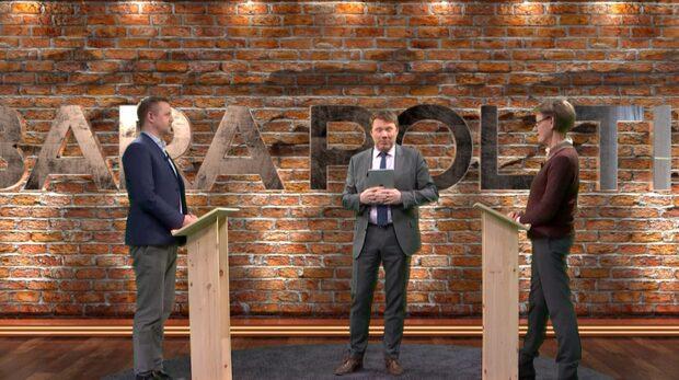 Bara Politik: Debatt mellan Gudrun Schyman och Fredrick Federley
