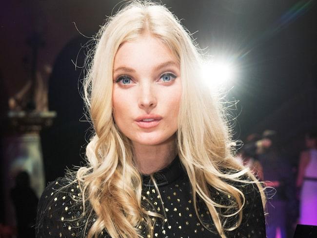 Elsa Hosk är en av Sveriges mest kända supermodeller.