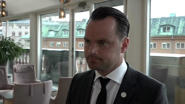 Adam Marttinen (SD) om diskussionen kring brottsligheten