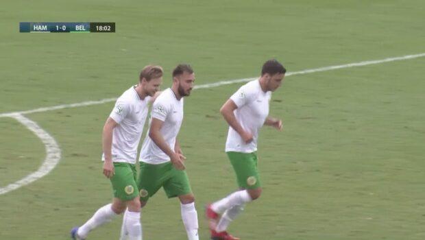 Dubbla straffmål i Hammarbys träningsmatch