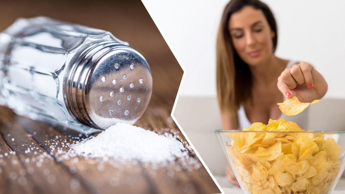 för lite salt i kroppen symtom