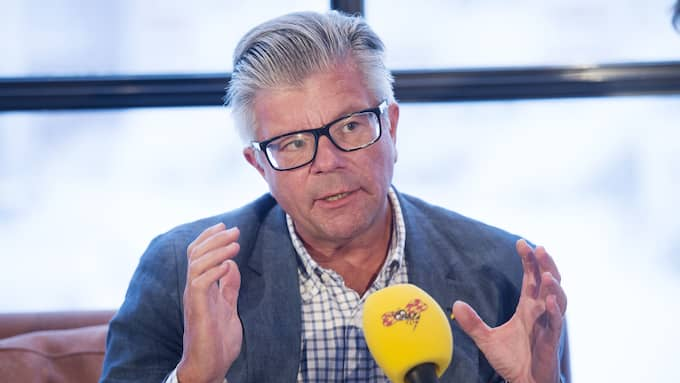 Hans Wallmark (M), försvarspolitisk talesperson. Foto: SVEN LINDWALL