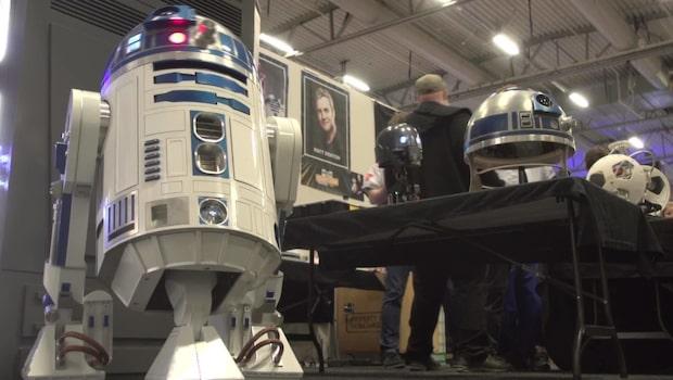 Drömjobbet - arbeta med BB-8 och R2D2