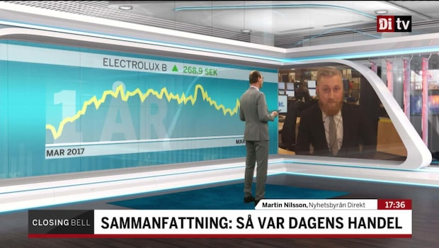 """Nilsson: """"Sju av åtta dagar på plus"""""""