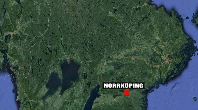 Kvinnan försvann i Skärblacka, i närheten av Norrköping. Foto: Google earth