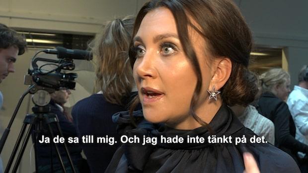 """Läckberg om ändringen under """"Stjärnorna på Slottet"""""""