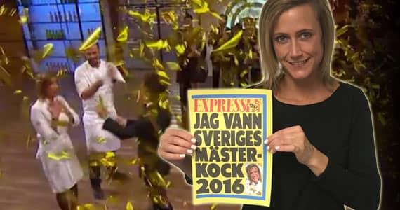 vem vann sveriges mästerkock 2016