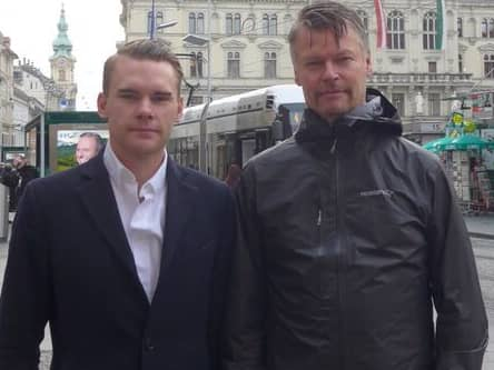 Philip Gadd och Tomas Pettersson
